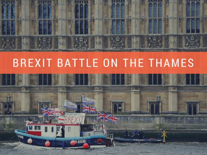 brexit fight on the thames n.