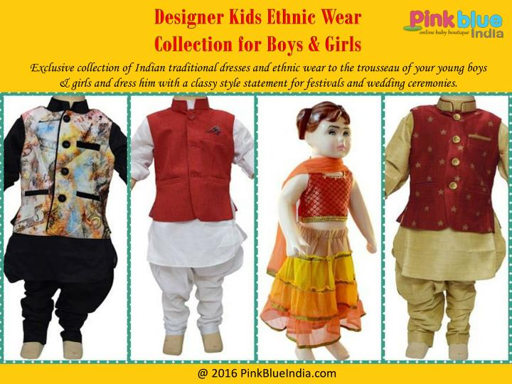 a03e33c30 PPT - Traditional Indian Outfits for Boys and Girls PowerPoint ...