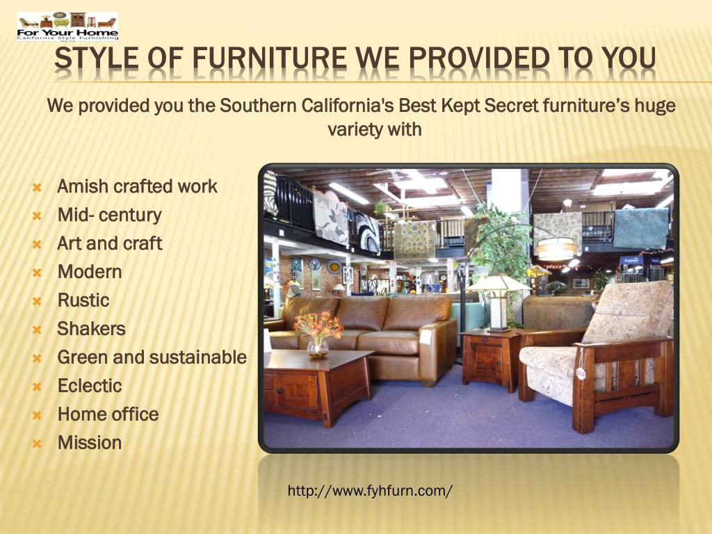 Ppt Furniture Santa Barbara Powerpoint Presentation Free Download Id 7356940