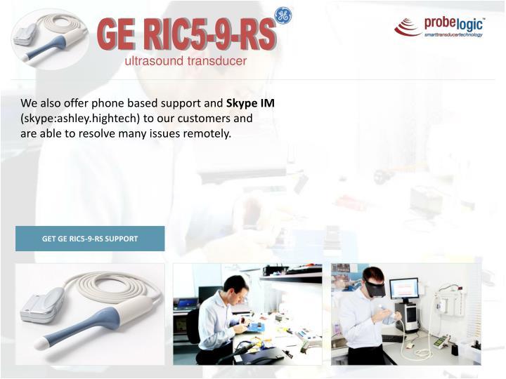 GE RIC5-9-RS