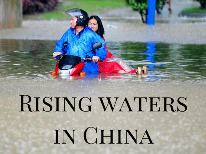 rising waters in china n.