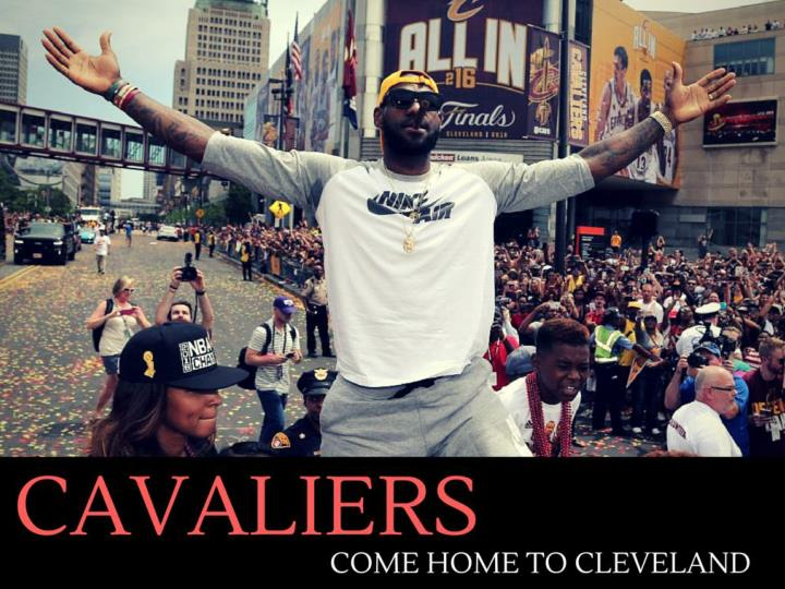 cavaliers return home to cleveland n.