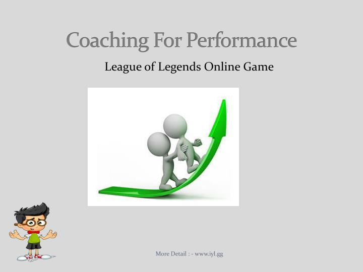 coaching for performance n.