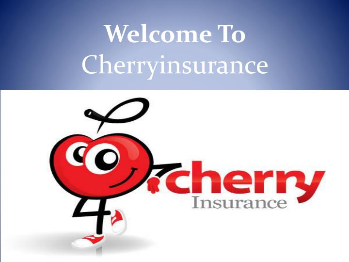 Welcome to cherryinsurance