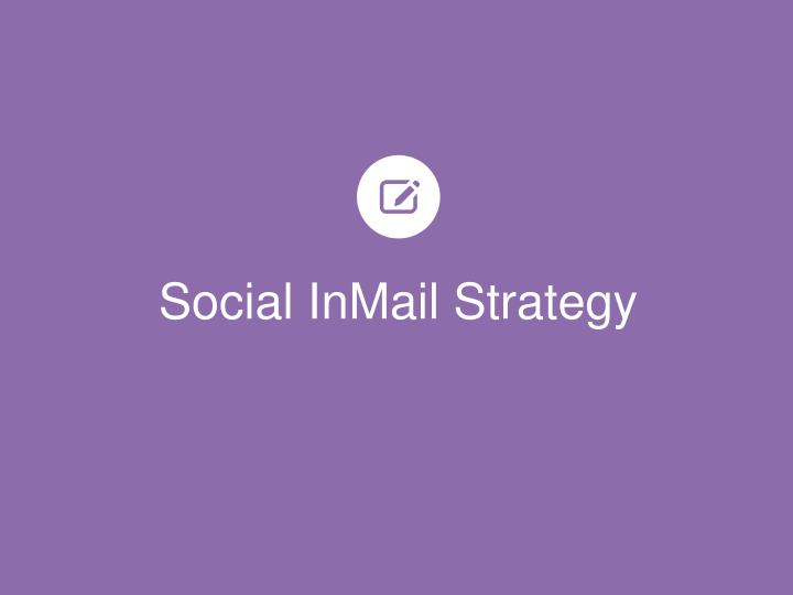 Social InMail Strategy