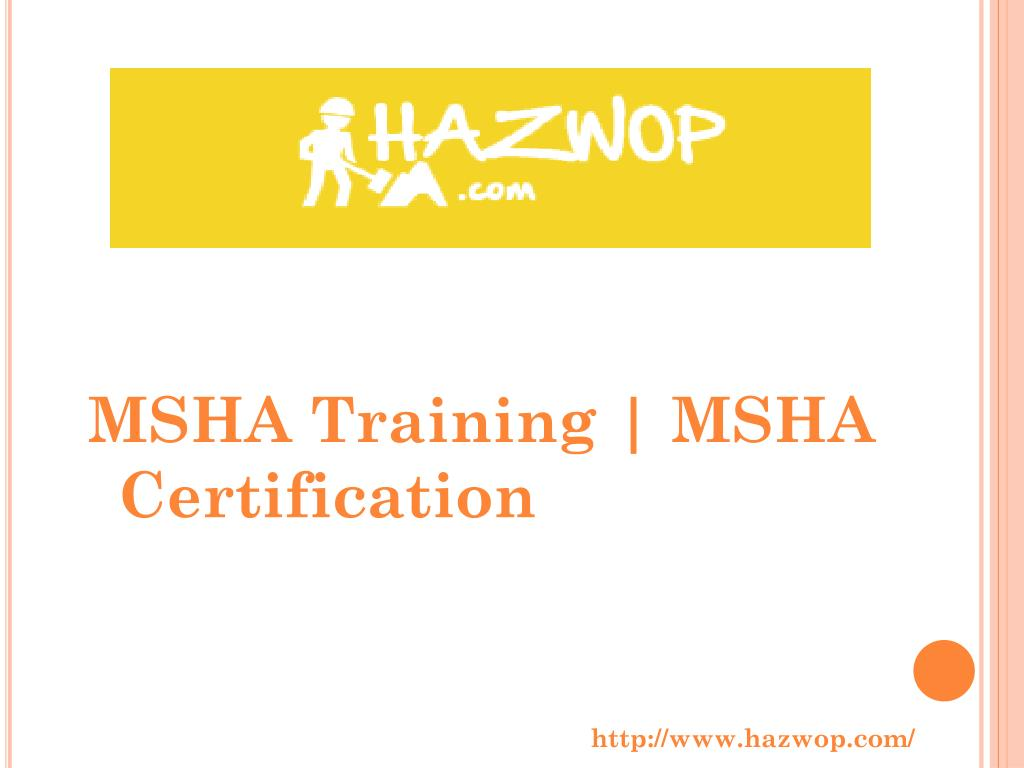 Ppt 40 Hour Hazwoper Training Powerpoint Presentation Id7359564