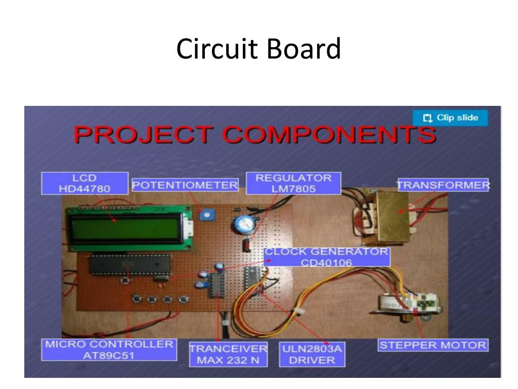 Computer Circuit Board Diagram Stepper System For Computer Control Of
