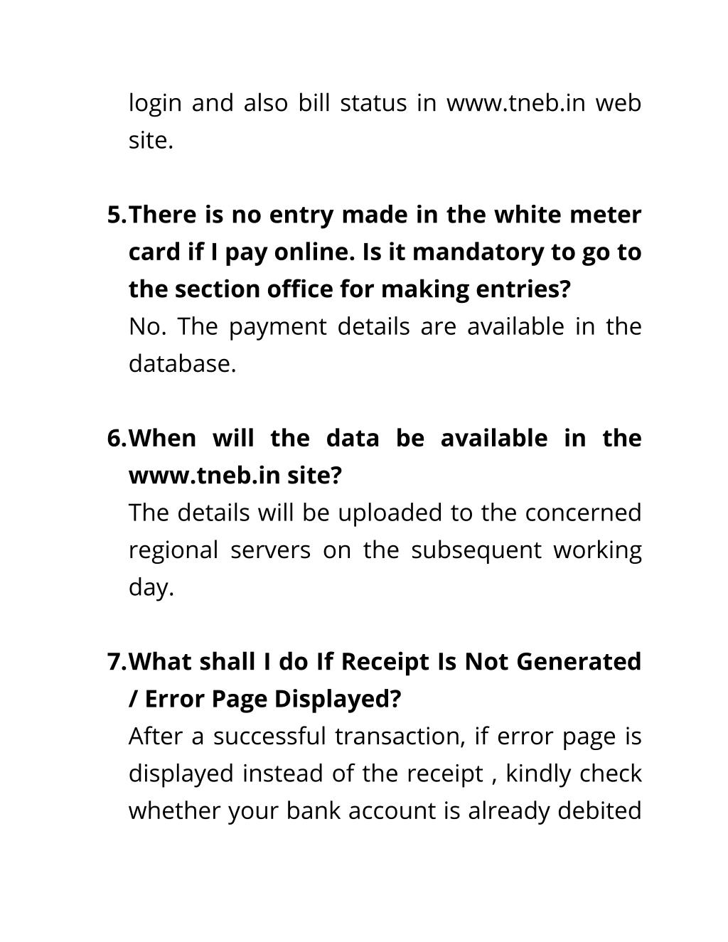 PPT - Tneb Online Payment PowerPoint Presentation - ID:7360301