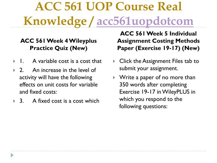 costing methods paper Attachments acc 561 wk#5 costing methods paperdocx costing methods paper in this case, would it be better to use the variable or absorption costing method, and why.