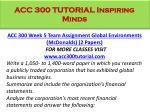 acc 300 tutorial inspiring minds9