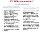 inf 103 learning consultant tutorialrank com4