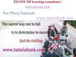 iscom 305 learning consultant tutorialrank com15