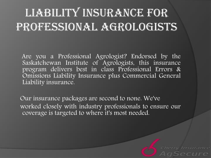Liability Insurance for Professional
