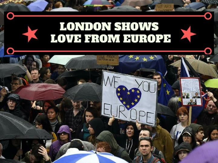 london indicates love for europe n.