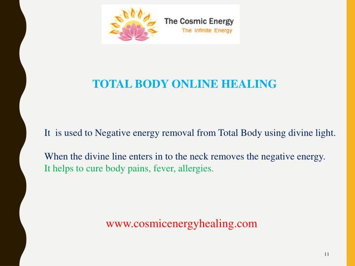 TOTAL BODY ONLINE HEALING