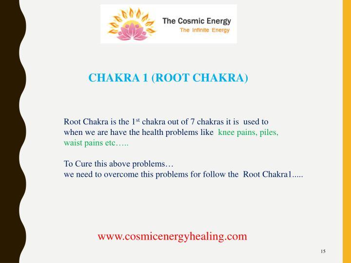 CHAKRA 1 (ROOT CHAKRA)