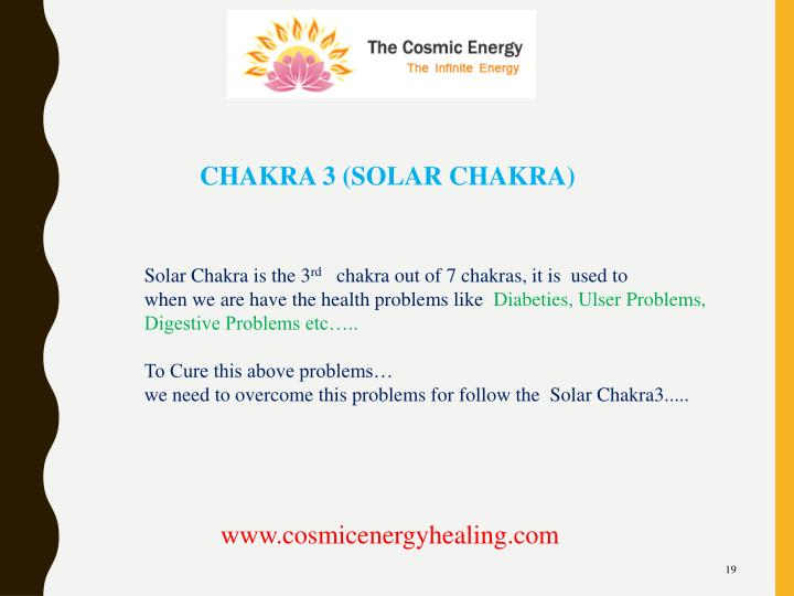 CHAKRA 3 (SOLAR CHAKRA)