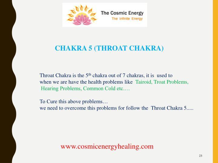 CHAKRA 5 (THROAT CHAKRA)