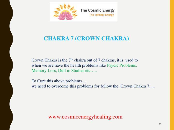CHAKRA 7 (CROWN CHAKRA)