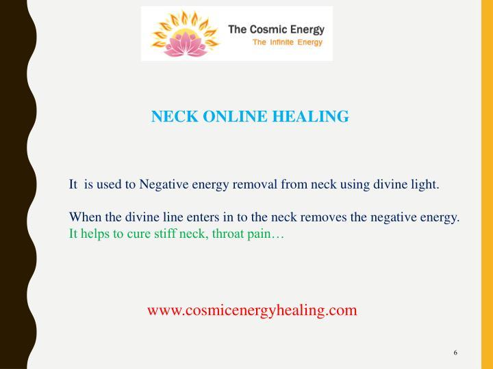 NECK ONLINE HEALING