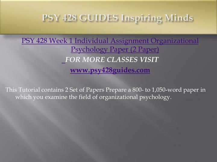 psy 428 week 5 assignment Psy 428 week 5 assignment psy 428 week 5 assignment click link below to buy:   contact us: hwcoursehelp@gmailcom.