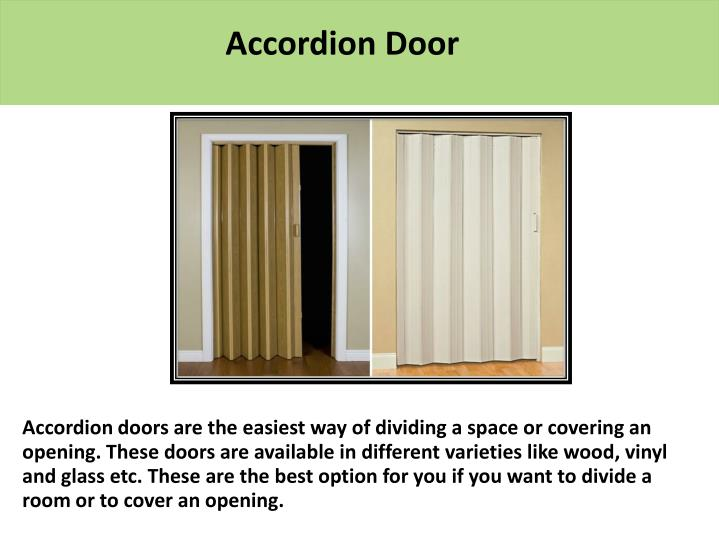 Accordion Door