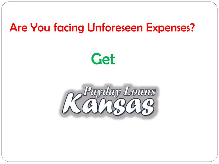 Online Payday Loans Kansas >> PPT - Payday Loans Kansas Obtain Borrow Money Without Any Hassle! PowerPoint Presentation - ID ...