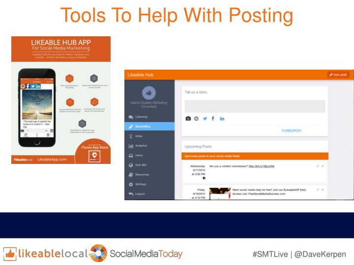 Tools To Help With Posting