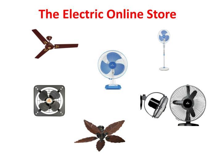 PPT - Reliable Online Electrical Store To Buy Electronic Products ...