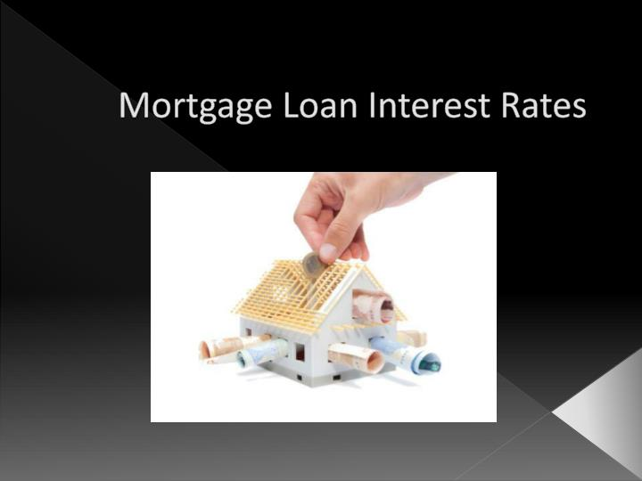 mortgage loan interest rates n.