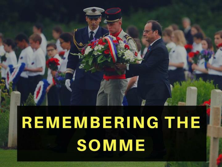 recollecting the somme n.