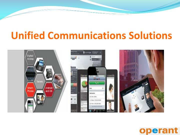 unified communications solutions n.