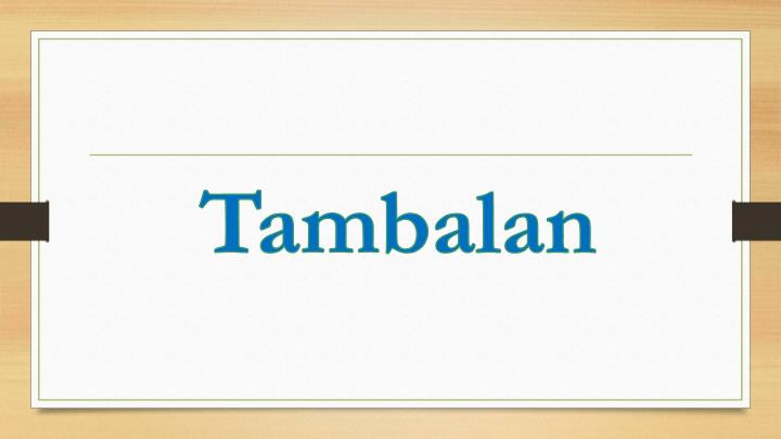 Tambalan