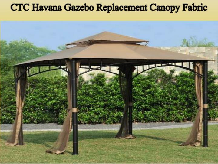 CTC Havana Gazebo Replacement Canopy Fabric & PPT - Sunjoy Industries Gazebo as Unique Outdoor Decorations ...