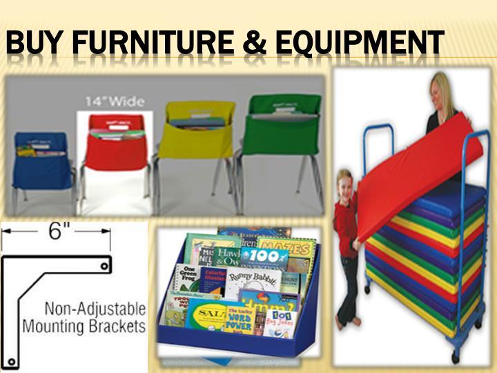 Buy furniture equipment