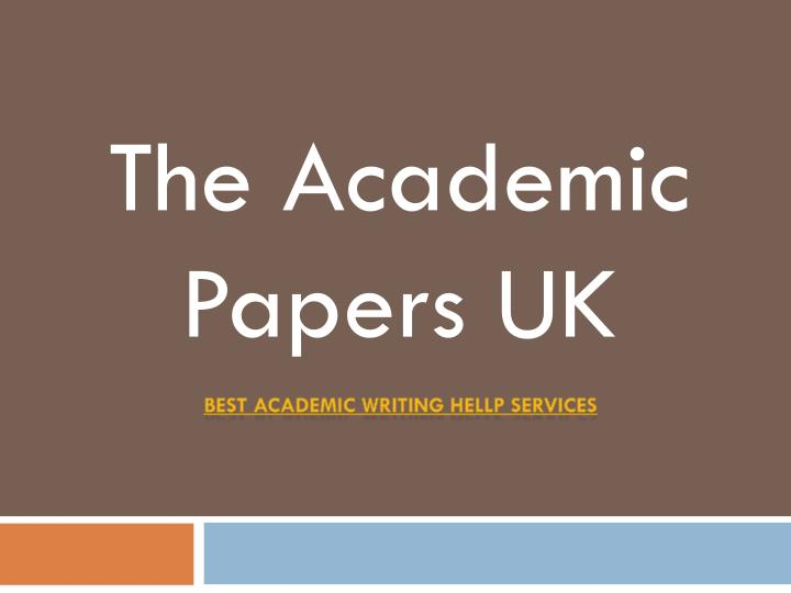 academic term paper writing service Academized: the best academic writing service available today if you are looking for the best academic writing services, then you have come to the right place academizedcom specialises in custom academic papers for all levels of students.