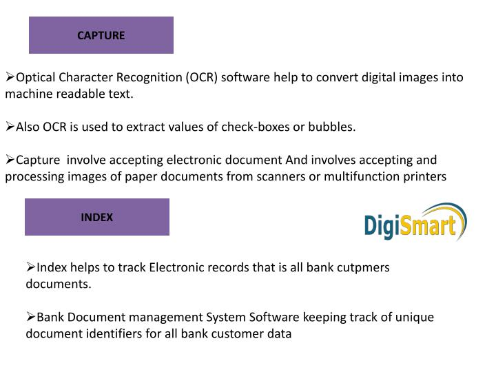 Ppt Most Imporatant Services Of Bank Document Management System