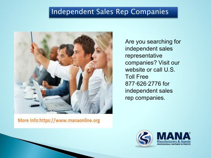 Independent Sales Rep Companies