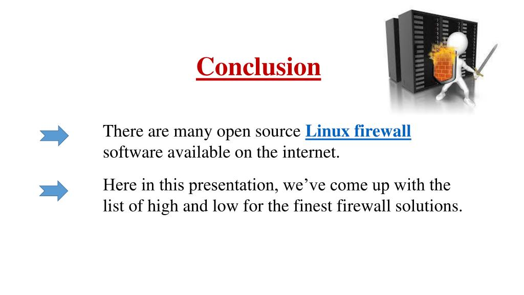 Open Source Firewall