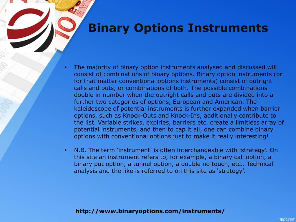 Binary options ppt