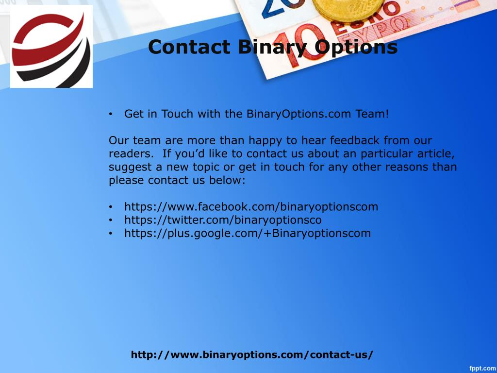 Contact | Binary Options Trading Review