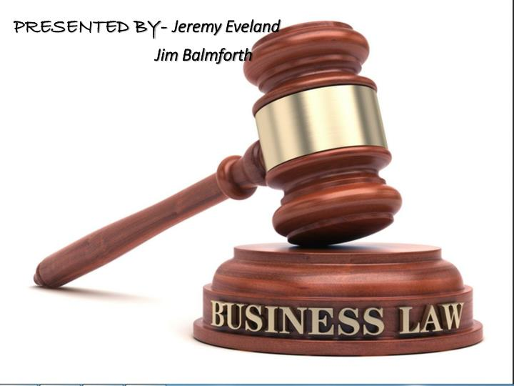 presentation on business law How can you awaken the cognitive powers of your audience start by learning the secrets of a knockout business presentation.