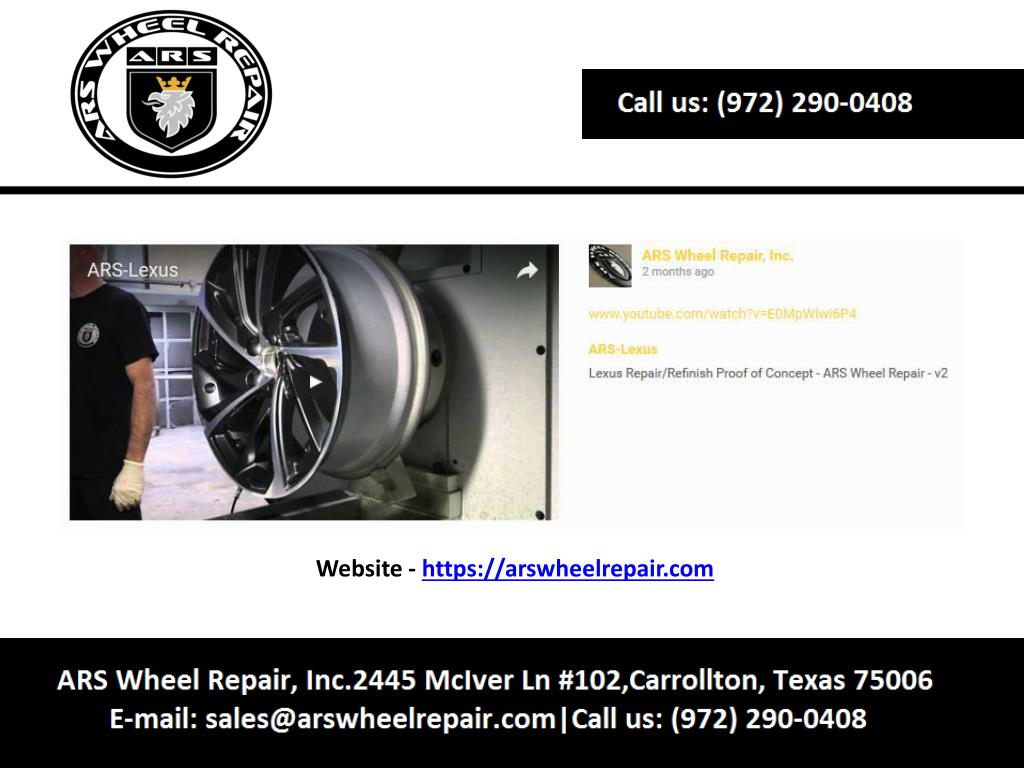 Ppt Dallas Wheel Repair Powerpoint Presentation Free