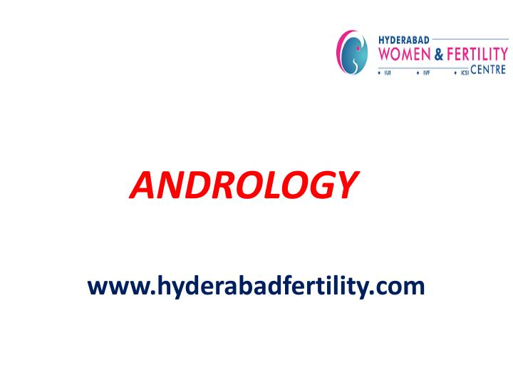 andrology n.