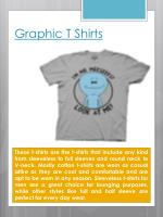 graphic t shirts1