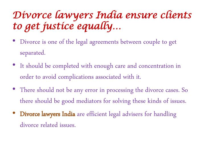divorce laws in india Urgent- both want divorce asap :: should we file in us or india there will be many who are of indian origin and are familiar with divorce laws in india.