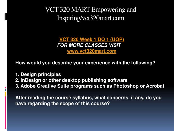 Vct 320 mart empowering and inspiring vct320mart com2