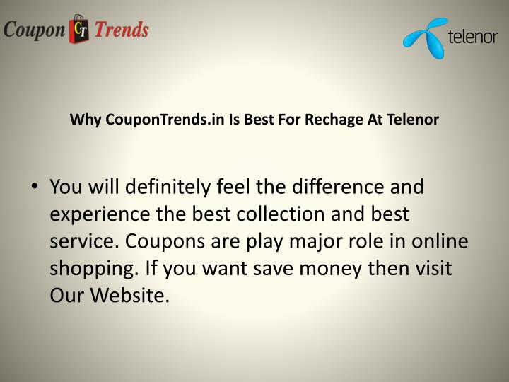 Why CouponTrends.in Is Best For