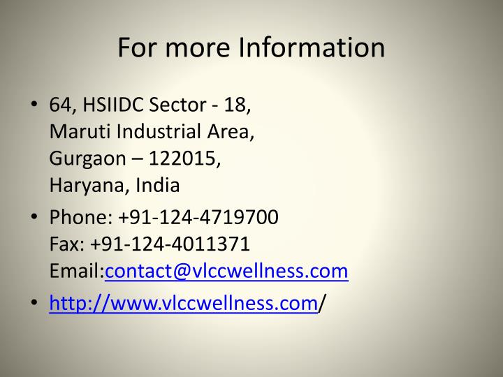 PPT - VLCC Diet Tips for Weight Loss PowerPoint ...
