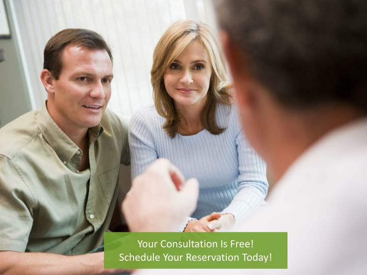 Your Consultation Is Free!